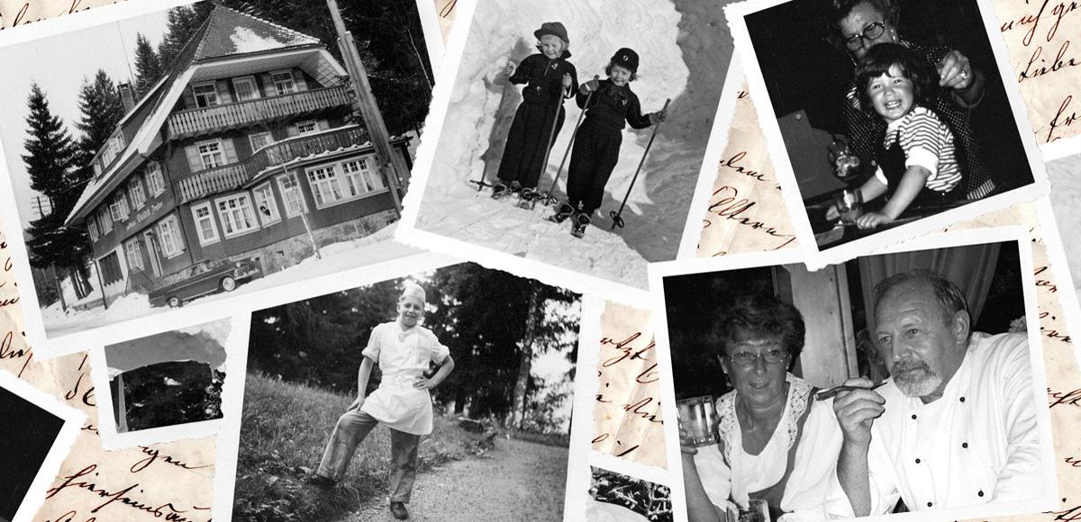 Geschichte Familie Kapferer Hotel Waldeck Hochschwarzwald